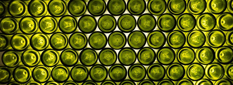 Empilement de bouteilles Trois Toits Vertou